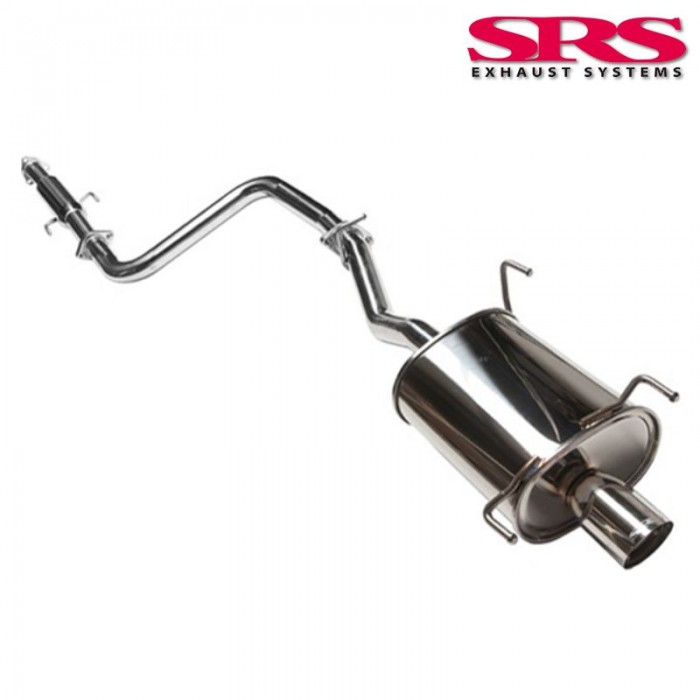 SRS Exhaust Systems G35 Catback System 60,5mm - Prelude 97-01
