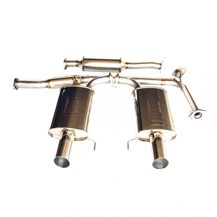 Fujitsubo Legalis R Cat Back Exhaust - Accord CL7 CL9