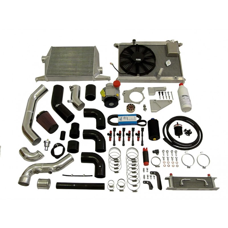 TTS Performance Rotrex SuperSport Kit - Civic Type R EP3 (Non A/C)