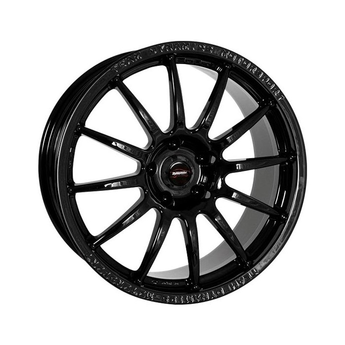Team Dynamics Pro Race 1.2 Gloss Black Alloy Wheel - 17X8 ET38 5x114.3