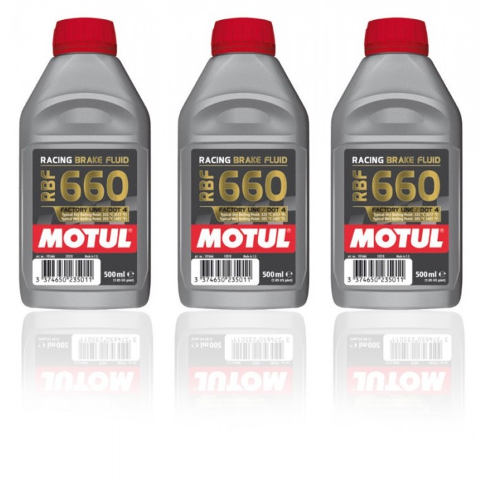 Liquide de Freins Racing Motul RBF 660 - 3x500mL