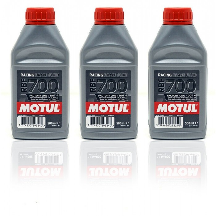 Liquide de Freins Racing Motul RBF 700 - 3x500mL