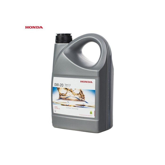 Genuine Honda Engine Oil 4L Synthetic 0W20 - Civic 1.5L Turbo FK7