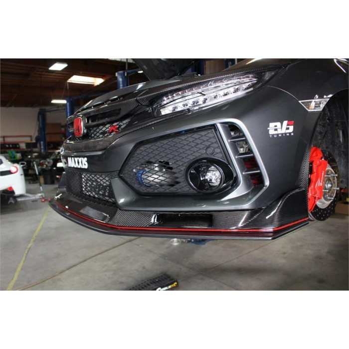 EVS Tuning Carbon Front Lip Spoiler - Civic Type R FK8