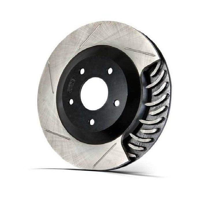 Stoptech Slotted Brake Discs (Front Pair) Honda
