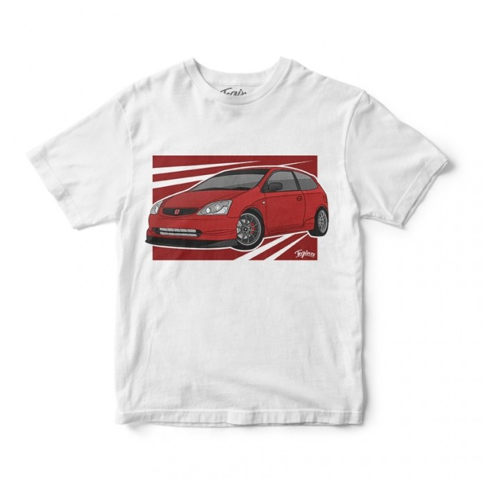 T-Shirt Tegiwa Civic EP3 Type R