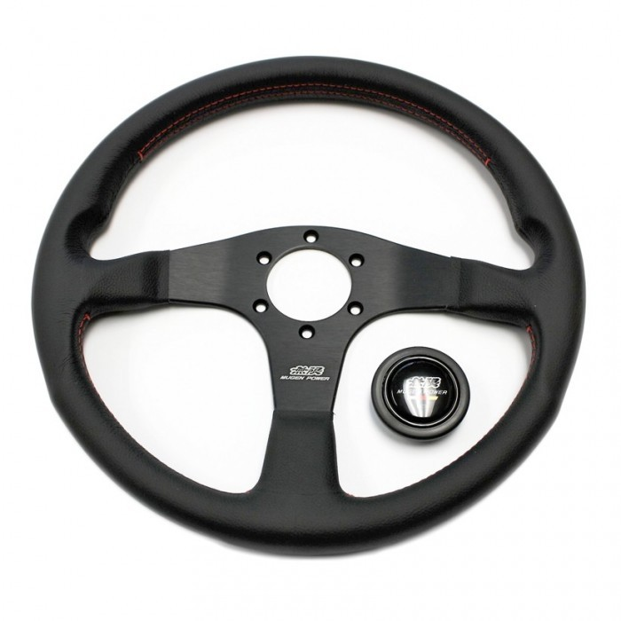 MUGEN III 350Mm Racing Steering Wheel - Leather