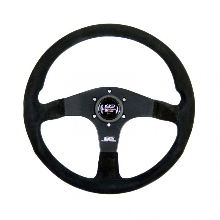 MUGEN III 350Mm Racing Steering Wheel - Suede