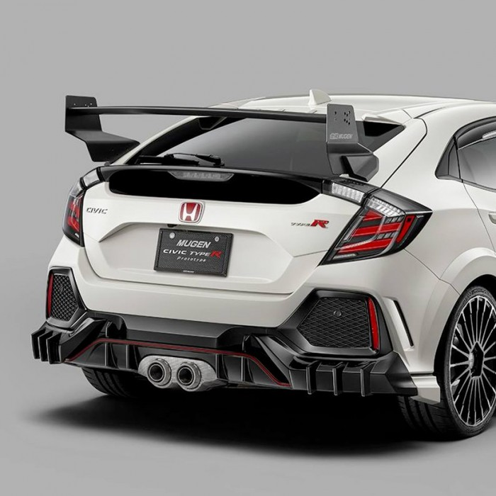 MUGEN Titanium Sports Exhaust Honda Civic Type R FK8