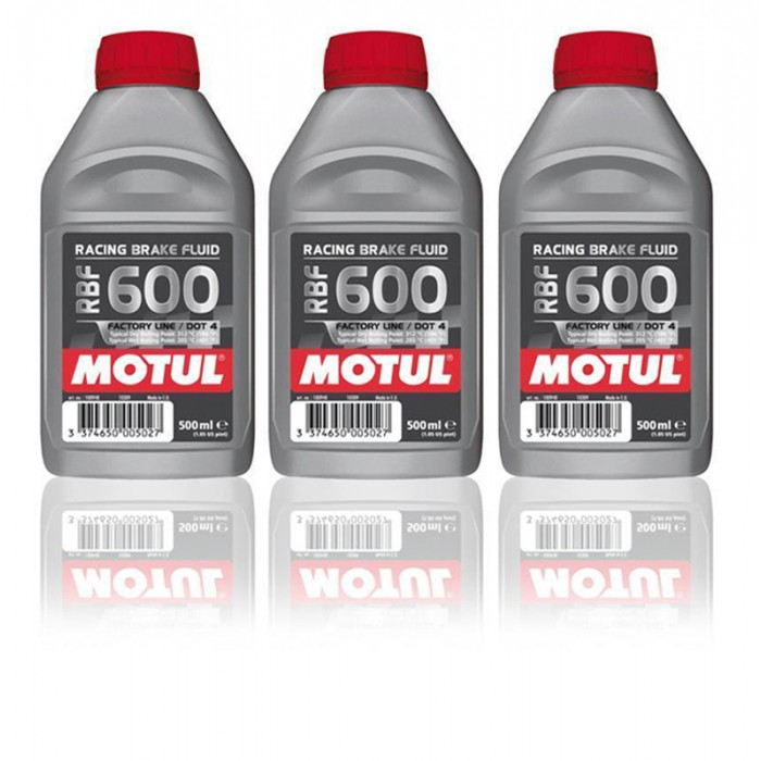 Liquide de Freins Racing Motul RBF 600 - 3x500mL