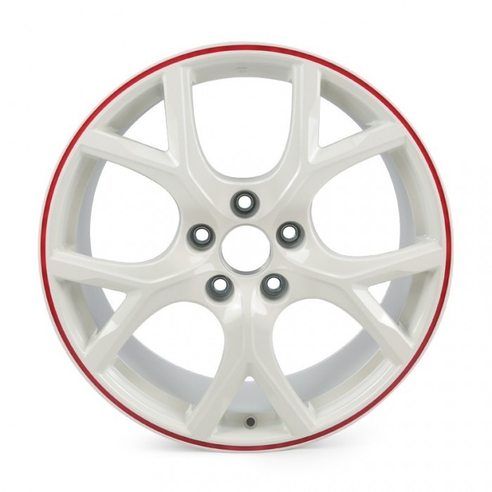 "Genuine Honda 19"" Alloy Wheel White Civic Type R FK2 FK8"