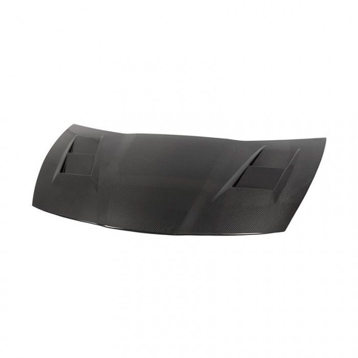 Tegiwa Carbon Fibre Vented Bonnet Hood - Civic Type R FN2
