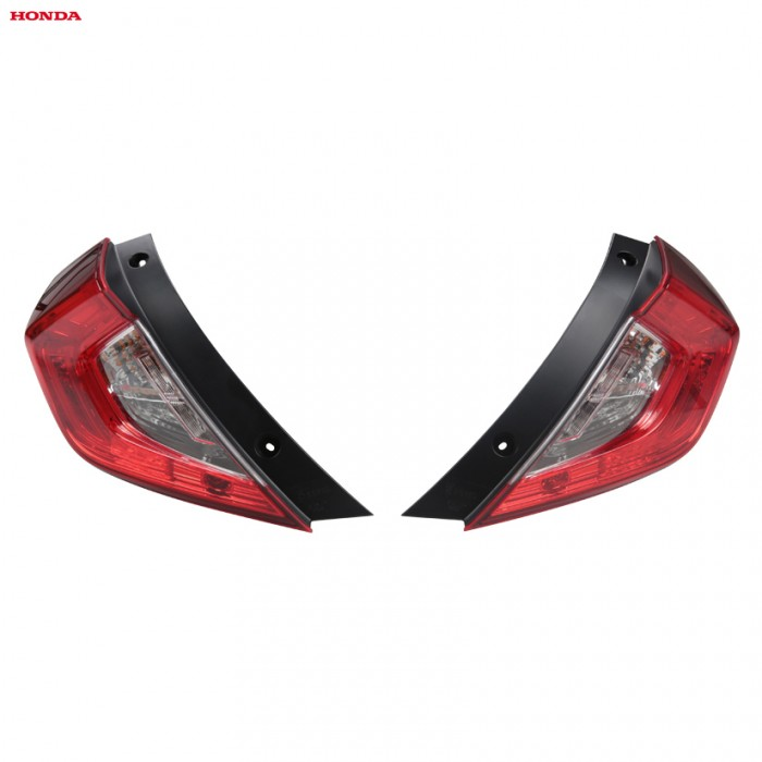 Genuine Honda EDM Rear Forg Tail Light Pair - Civic 5-Door Sedan 17+
