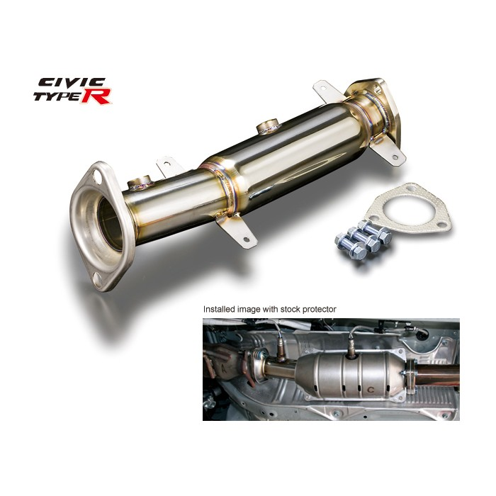 TODA Racing Catalyst Adapter Pipe - Civic Type R FD2