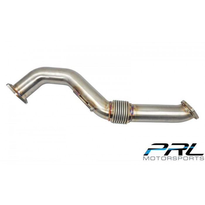"PRL Motorsports Front Pipe 3"" Upgrade - Civic Type R FK8"