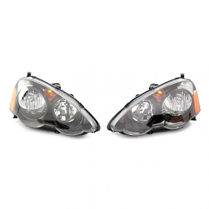 Genuine Honda Front Head Lights Pair Integra Type R DC5 01-04