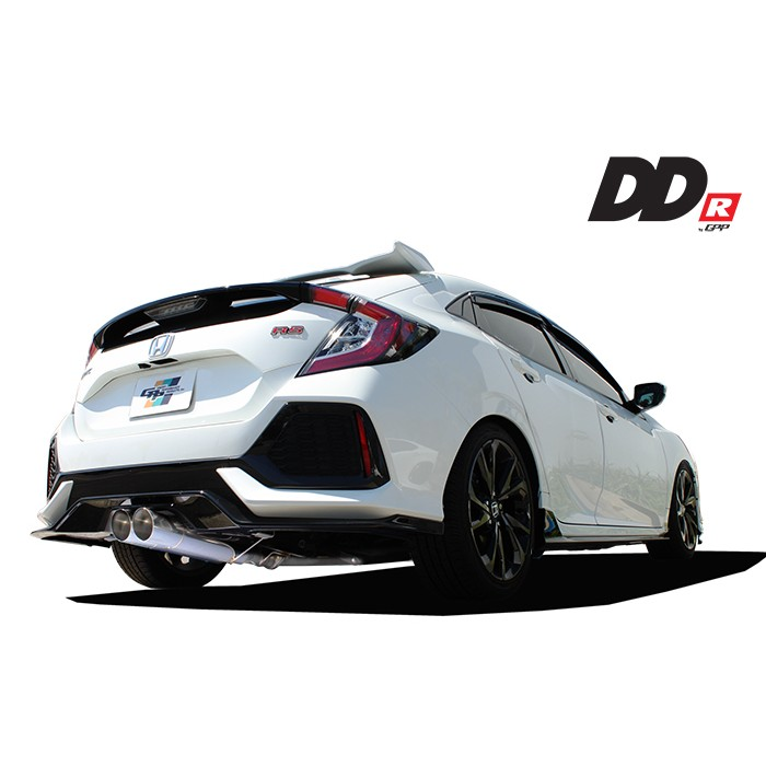 GReddy DD-R Exhaust Cat Back - Civic 1.5T 2016+ (Hatchback)