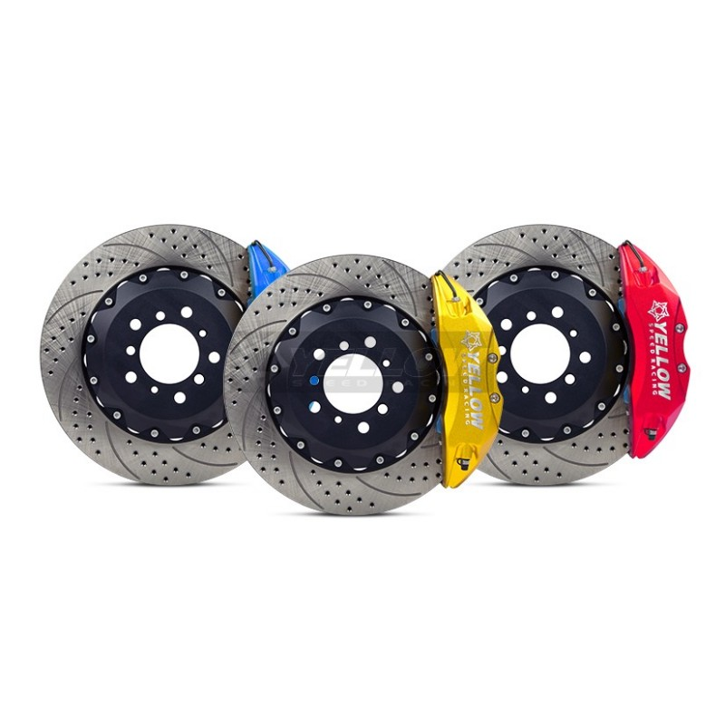 Yellow Speed Racing Front Big Brakes Kit - Accord CL9