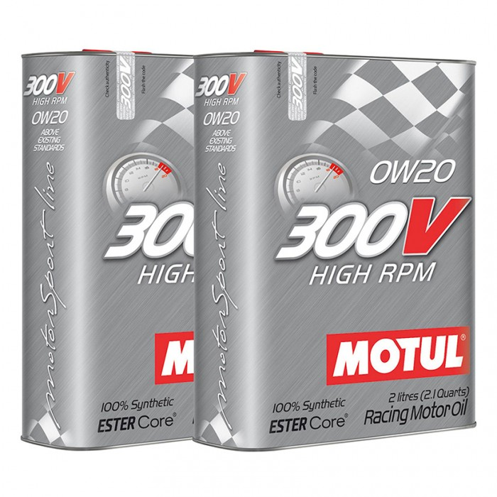Huile Moteur MOTUL 300V High RPM 0w20 Synthetic