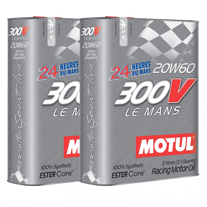 Motul 300V Le Mans 20w60 Synthetic Engine Oil