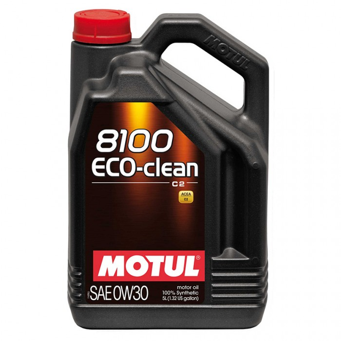 MOTUL 8100 ECO-clean 0w30 Synthetic Engine Oil