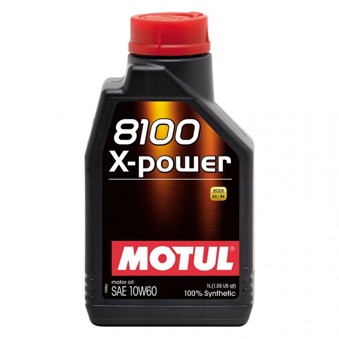 MOTUL 8100 X-power 10w60 Synthetic Engine Oil