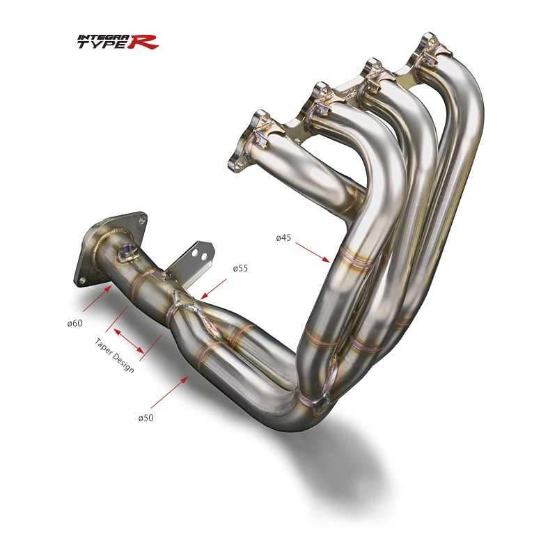 Toda Racing Exhaust Manifold Header - Integra Type R DC2