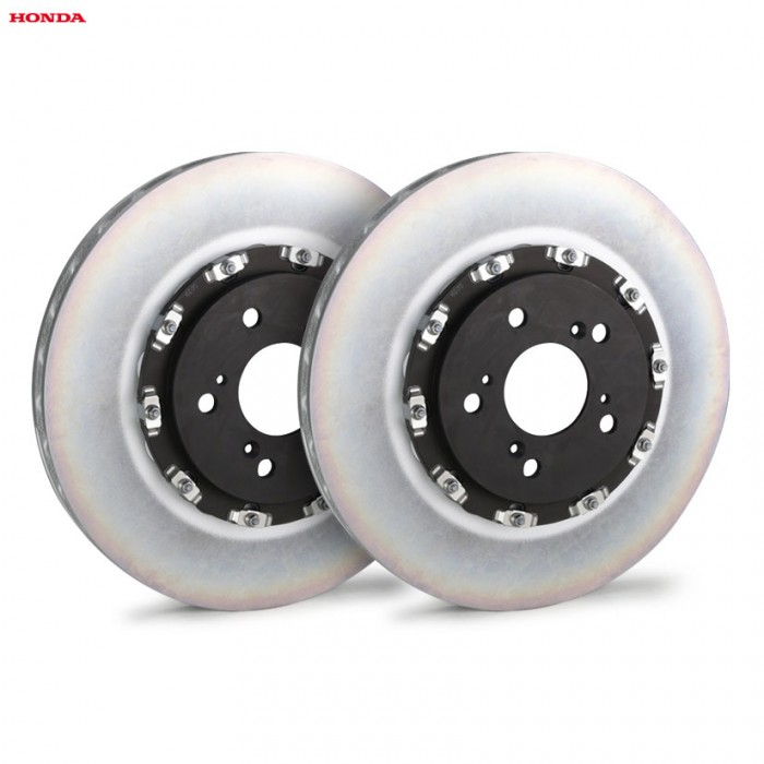 Genuine Honda 2-Piece Floating Front Brake Discs - Civic Type R FK8 2020