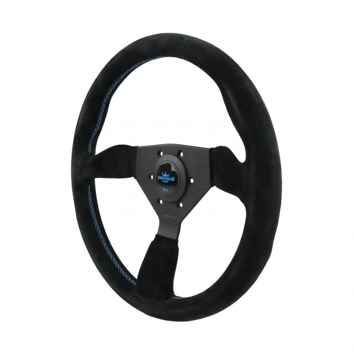 Personal Grinta Suede Leather Steering Wheel – 330mm