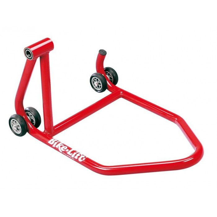 BIKE LIFT Rear Red One Armed Rear Stand - Left Hand Hold