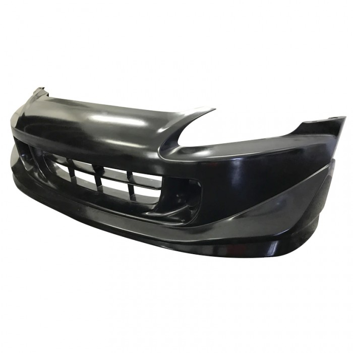 Ballade Sports Polyurethane One-Piece Front CR Style Bumper - S2000