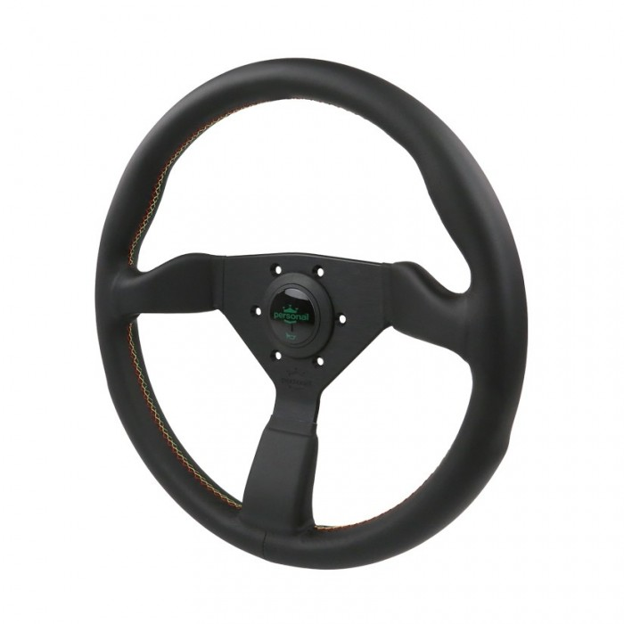 Personal Grinta Kingston Leather Steering Wheel - 350mm