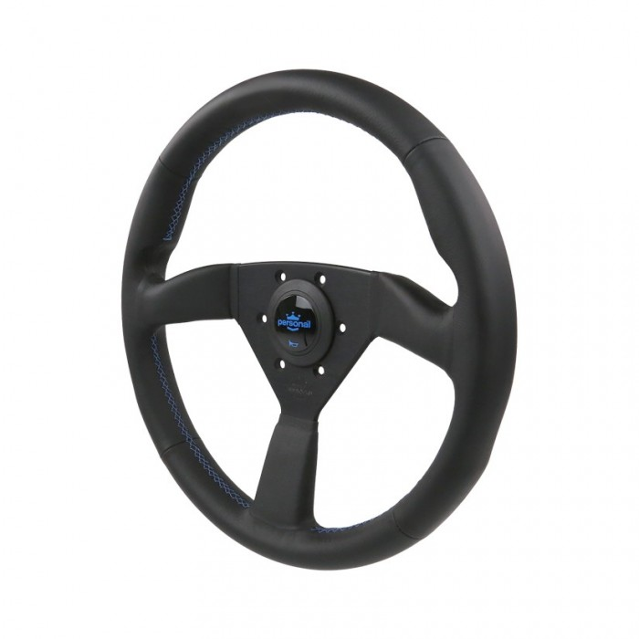 Personal Neo Eagle Leather Steering Wheel - 350mm