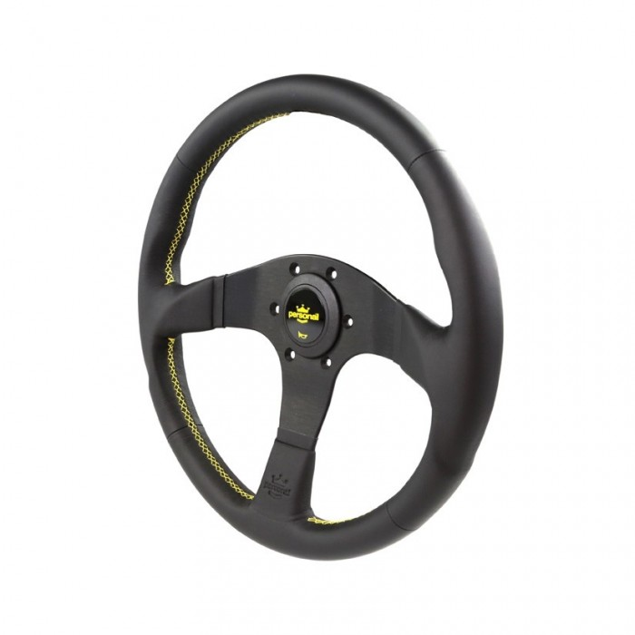 Personal Neo Actis Leather Steering Wheel - 350mm