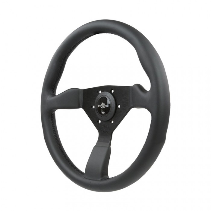 Personal Grinta Leather Steering Wheel - 350mm
