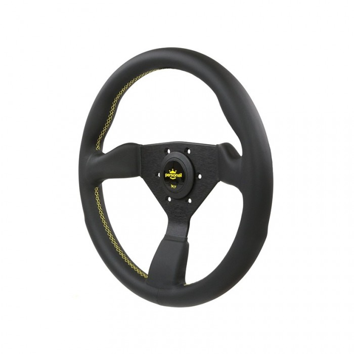 Personal Grinta Leather Steering Wheel - 330mm