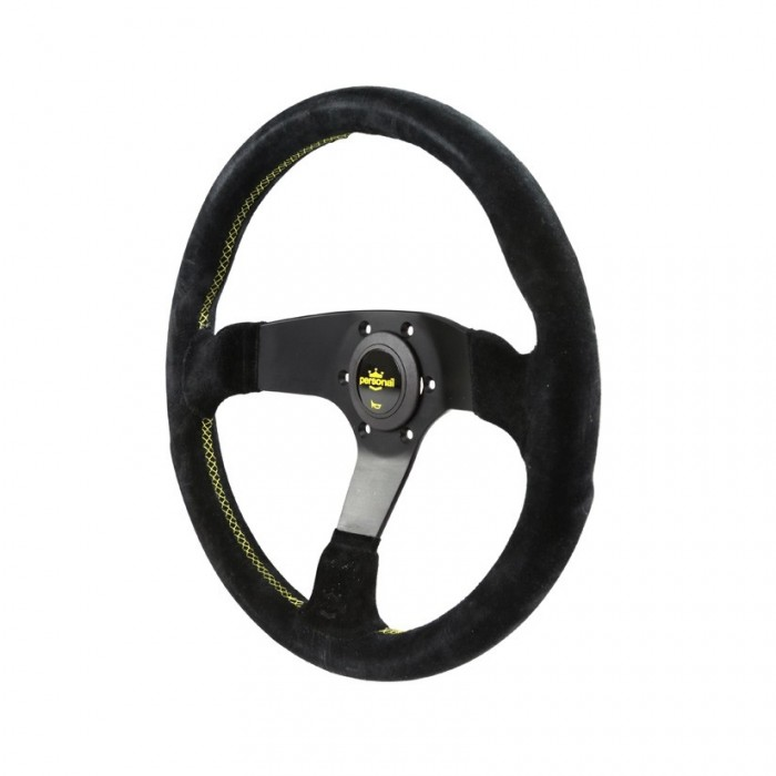 Volant PERSONAL Fitti Corsa Suede Cuir - 350mm