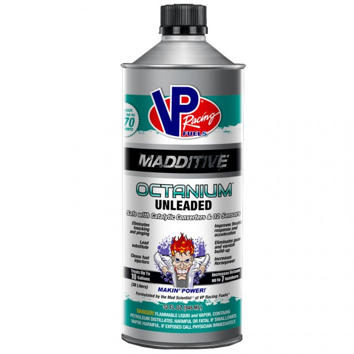 Additif VP Racing Octanium Unleaded