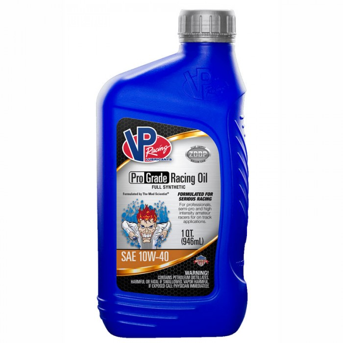 VP Racing ProGrade Racing Oil Full Synthetic - 946mL