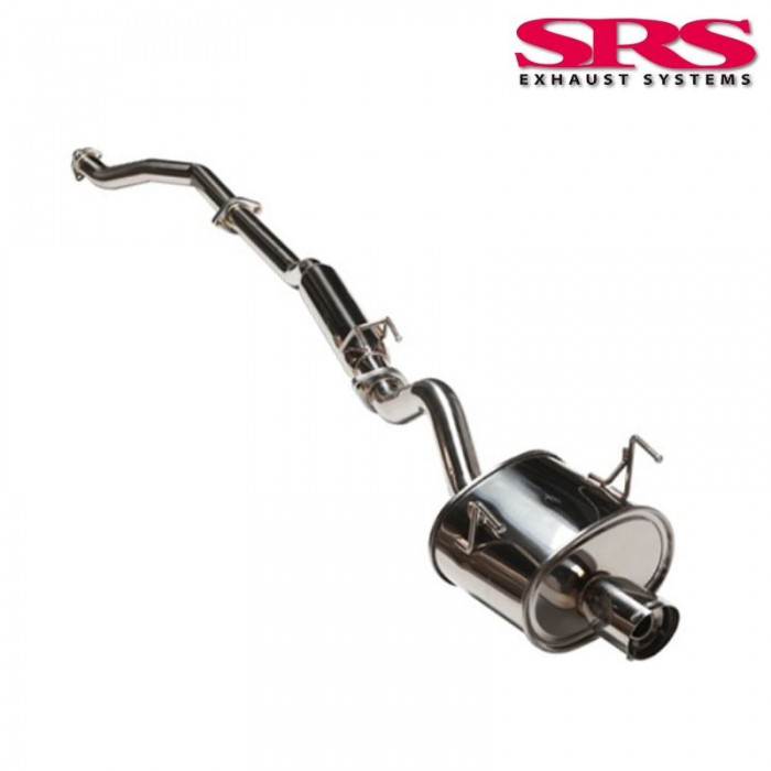 SRS Exhaust Systems G35 Catback System 60,5mm - Civic Type R EP3