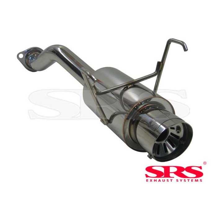 SRS Exhausts G55 Muffler With Adjustable Silencer - Civic Type R EP3