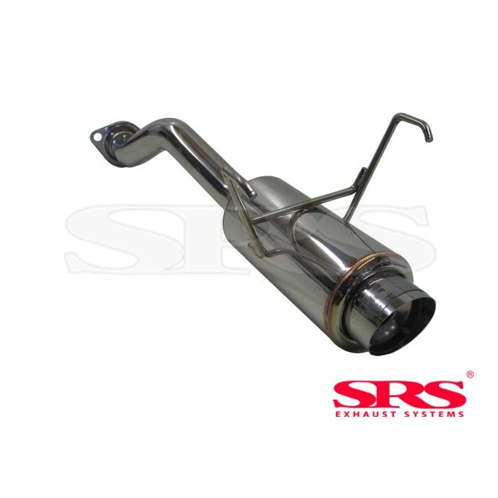 SRS Exhausts G50 Muffler With Adjustable Silencer - Civic Type R EP3