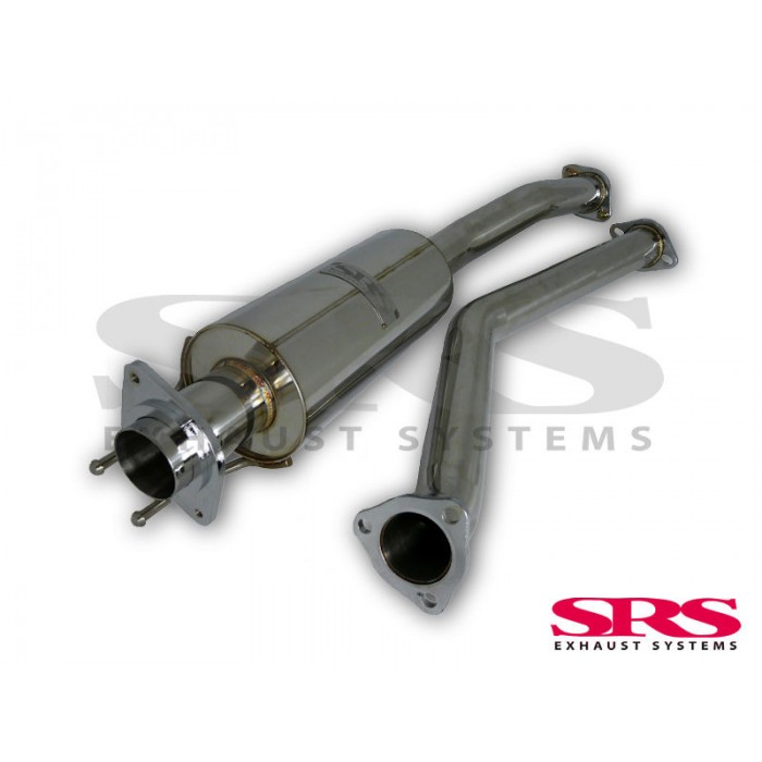 SRS Exhausts Midpipe B-pipe - Civic Type R EP3