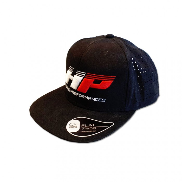 Honda Performances HP Design Snapback Hat Cap - Black